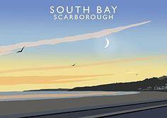 South Bay, Scarborough Art Print (A3) Chequered Chicken https://www.amazon.co.uk/dp/B076ZM27WY/ref=cm_sw_r_pi_dp_x_ESj-zbC33H5CR