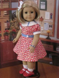 "Susie's 18"" Doll Clothes Fit American Girls Kit Molly Julie Saige Caroline 