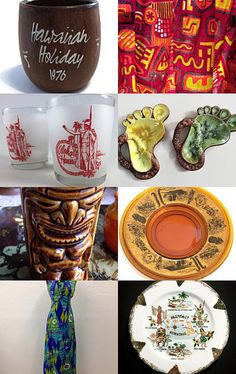 hawaiian punch with teamkitsch by sarah derbyshire on Etsy--Pinned with TreasuryPin.com