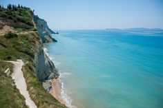 Logas Beach, The Sunset Beach, Corfu