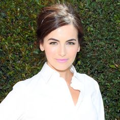 Camilla Belle updates an old-fashioned hairstyle. See more celebrity beauty here.