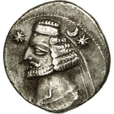 Unfortunately, this collectible item is no longer available ! ➽ Ask us to find it for you : Coin Parthia (Kingdom of) Orodes II Drachm Ekbatana Silver. Parthian Empire, Islamic, Oriental, Coins, Personalized Items, Silver, Inspiration, Collection, Biblical Inspiration