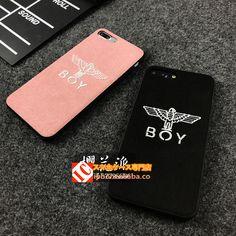 ファッションブランド ボーイロンドン鷹タカ刺繍立体アイフォンX/8Plus/7ケースiphoneX/8/7Plus/6splus