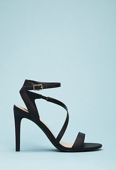 Faux Leather Ankle Strap Sandals | Forever21 - 2000052234