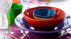 Italian table ware by Rice: I want it all!!
