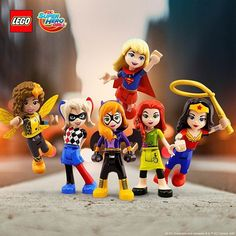 Check out the whole LEGO DC Super Hero Girls team with Batgirl, Wonder Woman, Supergirl, Bumblebee, Poison Ivy and Harley Quinn.  They may look tiny but when they stack those powers together, they are tough!⠀ #LEGODCSuperHeroGirls #BuildUpYourSuperPowers #SuperHeroWednesday #GetYourCapeOn @DCSuperHeroGirls⠀