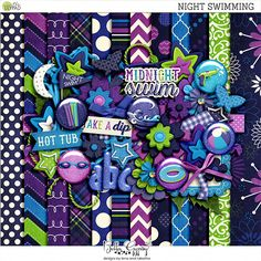 Night Swimming by Bella Gypsy Designs
