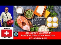 Video: Vitamin D Deficiency and COVID-19 Dr Bones, Vitamin D Deficiency, Emergency Preparedness, Survival, First Aid, Health Care, Vitamins, Medical, Amy