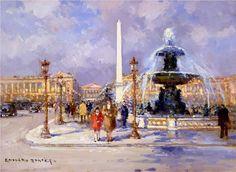 Place de la Concorde - Edouard Cortes