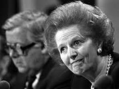 Margaret Thatcher was Prime Minister of England during the 80's, but was unpopular with the working class due to her harsh mining policies.   Xan Lyppiatt (the Warden, and undisputed leader of the nation) is hated by the members of the Five Fishes, due to his compulsory fertility testing policies.