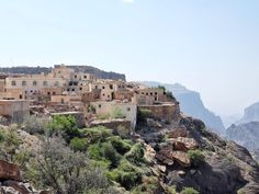 Perched 2000 metres above sea level on the cliffs of Saiq Plateau, Oman sits the highest five star resort in the Middle East: Anantara Al Jabal Al Akhdar. The Middle, Middle East, Oman Tourism, High Five, Five Star, Sea Level, Fantasy Landscape, What Is Life About, Beach Resorts