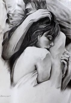 Pin di madison inman su goals love drawings, couple drawings e art drawings. Drawings Of People Kissing, Couple Drawings, Love Drawings, Drawing People, Art Drawings, Illusion Kunst, Love Illustration, Foto Art, Inspiration Tattoos