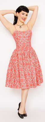 SOLD  GUC- Chelsea Coral print dress. I purchased this dress second hand and never wore it. $95 shipped
