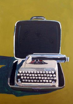 Sterling Typewriter - Jessica Brilli