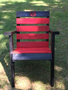 Another Custom Arkansas State Redwolves Adirondack Chair