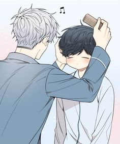Cherry Blossoms after winter Manhwa Manga, Manga Anime, Persona 5 Anime, Cherry Blooms, Hero Wallpaper, Cute Gay Couples, Free Anime, Cute Anime Guys, Pretty Art