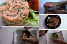 Réalisez un superbe tartare saumon-avocat - La Recette