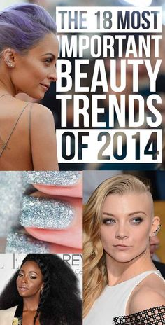 The 18 Most Important Beauty Trends Of 2014
