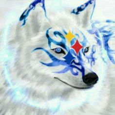 Pitsburgh Steelers, Wolf Spirit, Pittsburgh, Animals, Fictional Characters, Art, Art Background, Animales, Animaux