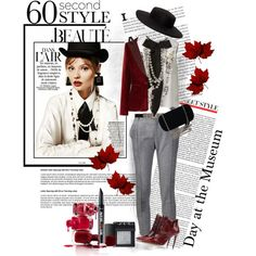 """Day at the Museum"" by spenderellastyle on Polyvore"