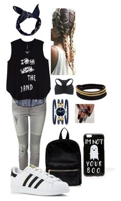 Cool look by cunnina on Polyvore featuring Melissa McCarthy Seven7, Devoted, Wet Seal, adidas, Vita Fede, ASOS, Boohoo and plus size clothing