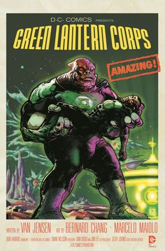 Green Lantern Corps #40 inspired by Forbidden Planet, Variant Cover by Tony Harris