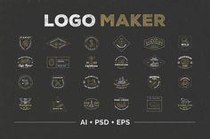 Logo Maker by Victor Barac on @creativemarket