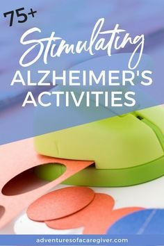 Keeping your loved one with Alzheimer's or any form of dementia busy and engaged can be a real challenge for caregivers. I've found that taking time to find and plan stimulating activities is well worth the effort. Activities For Dementia Patients, Dementia Crafts, Alzheimers Activities, Elderly Activities, Senior Activities, Dementia Care, Activities For Adults, Alzheimer's And Dementia, Therapy Activities