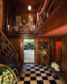 Jim Thompson House, Bangkok, Thailand. Lovely place! Jim Thompson disappeared mysteriously.