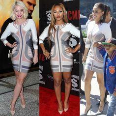 Teairra Mari Grammy Mid Sleeve Bandage Dress