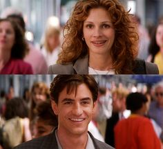 My Best Friend's Wedding (1997) Julianne and Michael // Julia Roberts and Dermot Mulroney
