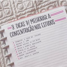 8 Dicas para Melhorar a Concentração nos Estudos Bullet Journal School, Bullet Journal Ideas Pages, Lettering Tutorial, School Diary, Mental Map, Study Organization, Study Planner, School Subjects, Study Hard
