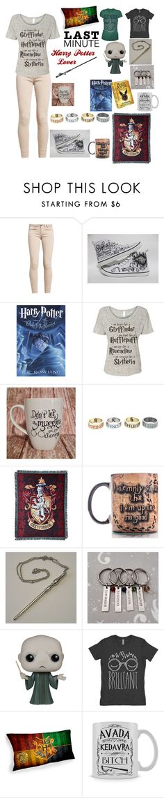 """Last minute gifts for Harry Potter lover"" by huntressof ❤ liked on Polyvore featuring Converse, Traits, Warner Bros., The Northwest Company and Funko"