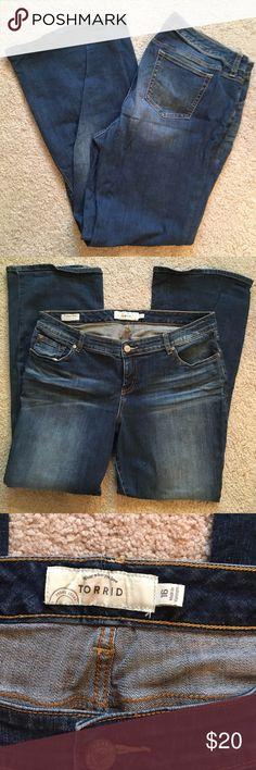 Selling this Torrid Bootcut Jeans on Poshmark! My username is: marissa425. #shopmycloset #poshmark #fashion #shopping #style #forsale #torrid #Denim