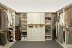 Each #ClosetsByDesign closet will maximize your space and create a space that helps organize not only your clothes, but your life as well