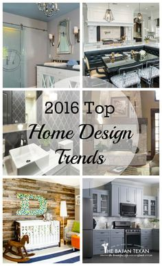 2016 home design trends  Home decor inspiration and style for 2016