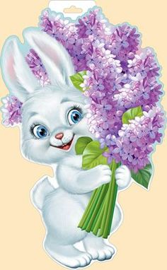 Bunny Painting, Fabric Painting, Easter Pictures, Art Pictures, Animal Drawings, Cute Drawings, Ostern Wallpaper, Bunny Images, Flower Phone Wallpaper