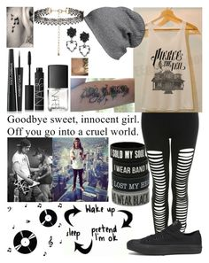 """""""Hacked by the best~ not <3"""" by fallenangel524 ❤ liked on Polyvore featuring Dot & Bo, Miss Selfridge, Converse, Coven, BP., New Look, Dolce&Gabbana and NARS Cosmetics"""