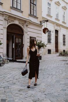 Editor's Pick: Black Summer Slip Dress