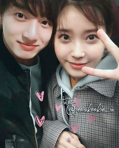 """♏A GOOD GIRL WITH BAD HABITS di Instagram """"〰❤ ---------- """"Not to brag, but I think we're really cute together"""" ---------- @bts.bighitofficial @dlwlrma ---------- #국유 #kooku #iukook…"""""""
