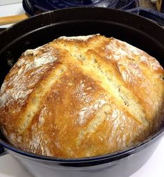 No Empty Fridge: No-Knead Bread