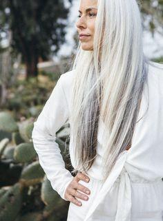 yasmina rossi gray hair