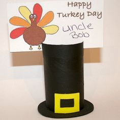 Toilet Paper Roll Crafts for Thanksgiving | Make a Thanksgiving Place Card Holder