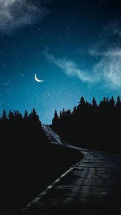 Night Sky Wallpaper, Sunset Wallpaper, Scenery Wallpaper, Dark Wallpaper, Nature Wallpaper, Galaxy Wallpaper, Moon And Stars Wallpaper, Apple Wallpaper, Wallpaper Backgrounds