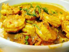 Easy recipe to make at home using Curry & Turmeric. Learn how to cook with Curry! WillYUM Spice McKay's Curry Shrimp is quick and flavorful for your family. Jamaican Cuisine, Jamaican Dishes, Jamaican Curry, Jamaican Recipes, Curry Recipes, Fish Recipes, Seafood Recipes, Indian Food Recipes, Cooking Recipes