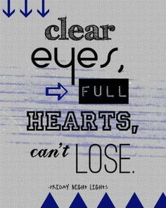 Fill your hearts.. open your eyes