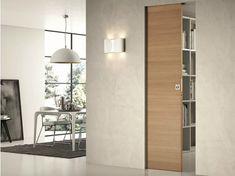 Innenlaufende Schiebetür ohne Rahmen COMFORT | Zimmertür ohne Rahmen - SCRIGNO
