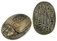 Sadigh Gallery's Ancient Egyptian Limestone Heart Scarab   Flickr - Photo Sharing!