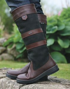dubarry boots -  a must have! BEST purchase I have made yet for the barn!
