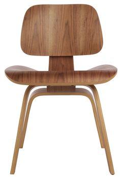 The Matt Blatt Replica Eames DCW (Dining Chair Wood) by Charles and Ray Eames - Matt Blatt